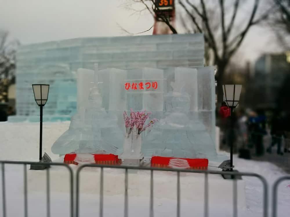 雪祭り氷の像