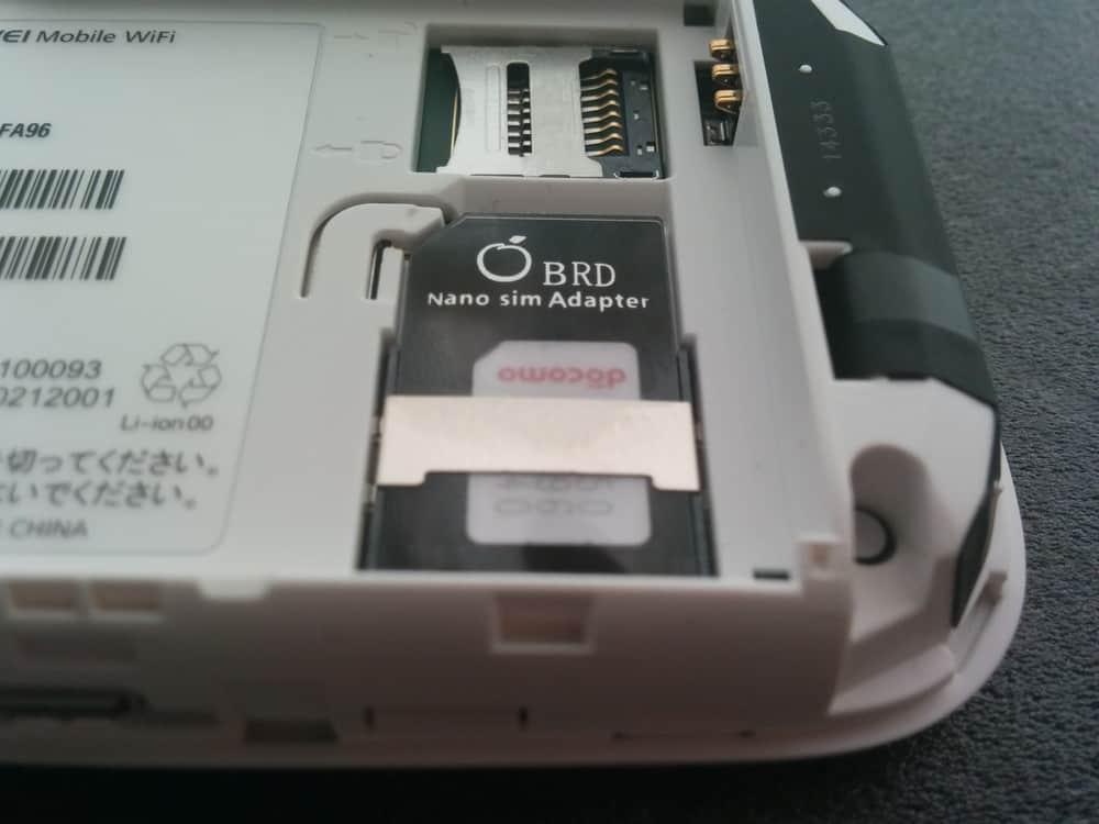 HUAWEI E5377 SIMカードセット