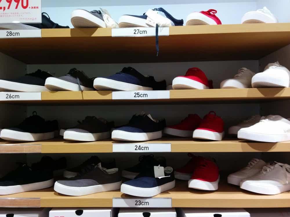 ユニクロ_shoes