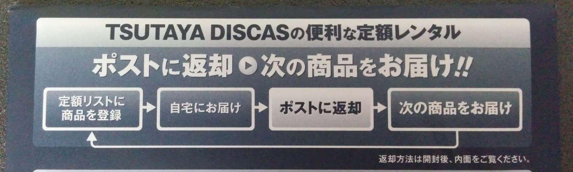 TSUTAYA _DISCAS 定額レンタル